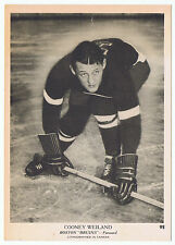 1939-40 O-Pee-Chee V301-1 # 92 Cooney Weiland Boston Bruins  (5 x 7 card)