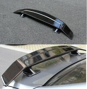 "UNIVERSAL 51"" DRAGON-1 GLOSSY BLACK ABS GT REAR TRUNK ADJUSTABLE SPOILER WING"
