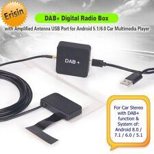 Erisin DAB+ Box Aerial Digital Radio Amplified Antenna Android 6.0 7.1 8.0 354GB
