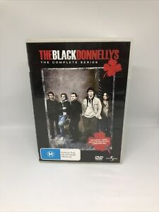 THE BLACK DONNELLYS Complete Series DVD Region 4 TV Show Very Good Condition