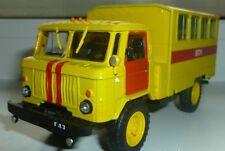 1/43 GAZ-66 Soviet Truck 4WD die cast model IXO & magazine 79 DeAgostini Service