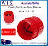 """Red Inner/Outer Deburring Tool,5-38mm(3/16""""-1-1/2""""),Plastic Plum-Burr-81216"""
