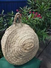 Round French basket - handmade