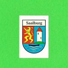 DDR Abziehbild Schiebebild Saalburg ´87