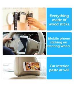 Mobile Phone Mirror Mount Holder Rubber Fixate Nano Gel Pad Bath Sticker Popular