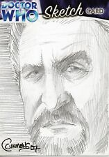 DOCTOR WHO Sketch Card - Cynthia Cummens - The Master (Delgado) - Strictly Ink