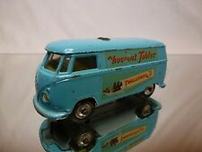 CORGI TOYS 441 VW VOLKSWAGEN T1 - CHOCOLAT TOBLERONE - BLUE 1:43 - GOOD
