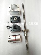 RM2505-1000mm Anti-backlashed Ballscrews &BF20/BF20 & 1 pcs 12*17 mm couplering