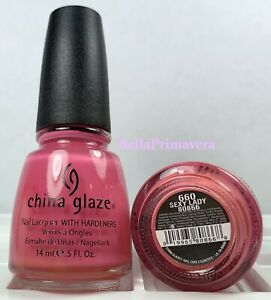 China Glaze Nail Polish Sexy Lady 660 Creme Pink Breast Cancer Awareness Lacquer