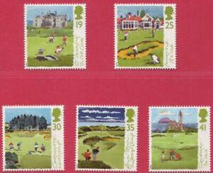 1994 GB Golf Set of 5 Stamps - SG 1829 to 1833 UM
