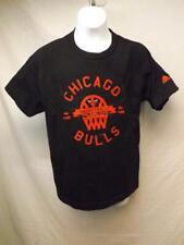 New-Minor Flaw Chicago Bulls Adidas Black Youth Medium M Shirt