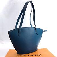 LOUIS VUITTON Shoulder Bag M52335 Sunjack shopping Poignier long Epi Leather...