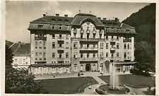 Slovakia Trenčianske Teplice - Grand Hotel old real photo postcard