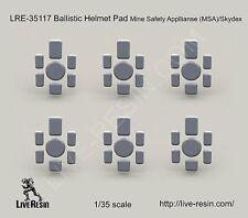 Live Resin 35117 1/35 Ballistic Helmet Pad Mine Safety Appllianse (MSA)/Skydex