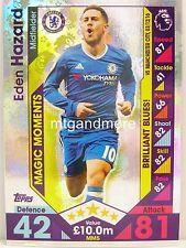 Match Attax 2016/17 Premier League -  MM5 Eden Hazard - Magic Moments