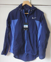 Nike Womens Impossibly Light Hooded Jacket Running/Gym Navy/Blue Medium/Small