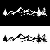 NICE Mountain Range Sticker decal graphics Car SUV Jeep PNW JDM Vinyl Tree