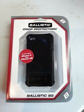 Ballistic Apple iPhone 4/4s Tough Jacket Series Case - Black