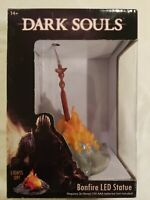 Dark Souls Bonfire LED Light-Up Statue by CMD Collectibles Brand New