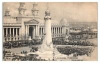 Louisiana Purchase Monument 1904 St. Louis World's Fair Expo Mogul Cig Postcard