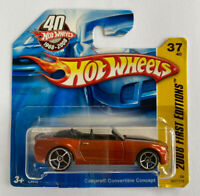 2008 Hotwheels Chevy Camaro Convertible Concept V8 Short Card, Mint! Very Rare!