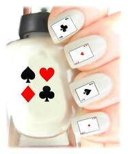 Playing Cards - Nail Art Decal Stickers, easy to use on any colour nail.441