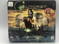 Outcast PC Game 1999 100% Complete Big Box True Classic Instructions Inserts