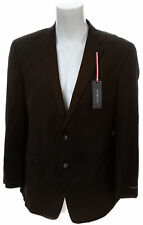 TOMMY HILFIGER Adams Black Wool Solid Suit Jacket