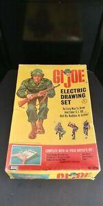 1965 G.I Joe Electric Drawing Set