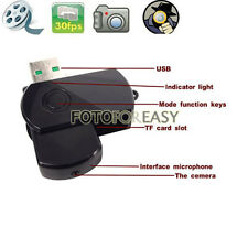 Mini DVR USB Disk Digital Hidden Camera Motion Detector Video Recorder Spy Cam