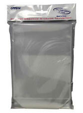 500x Clear DVD Plastic Sleeves High Quality Fit Movie Covers w/ Flap