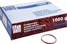 Elastico Gummiringe, rot Größe: 25 mm (No 4) 1000g (Alco; #Gummi# 742-1)