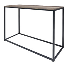 Modern Industrial Hallway Side Table Display Home Entry Decor Rustic Furniture