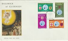 1975 Guernsey FDC cover Christmas
