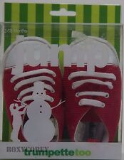 Trumpette Too Red High Top Infant Boys Sneakers Size 12-18 months NIB