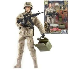 World Peacekeepers HUGE XXL Soldier Figurine with Hummer Truck and Accessories
