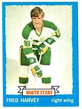 1973-74 Topps FRED HARVEY (ex) Minnesota North Stars
