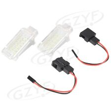 2PCS 18-SMD LED License Plate Lights White lamp For Audi A3 A4 A6 S4 Q7