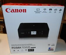 BRAND NEW Canon PIXMA TS5020 Wireless color All in One Printer Scanner Copier