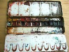 TALENS Boîte en métal pour aquarelle AVEC GODETS ET DEMI-GODETS N° 21