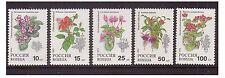 Russia - SG 6398/402 - u/m - 1993 - Pot Plants