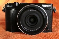 Nikon 1 J5 Mirror-less Digital Camera with Nikon NIKKOR 10 mm 1:2.8 / 40.5 Dia
