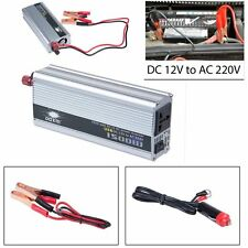 Puissance de voiture inverter 1500 W 12V DC à 220V AC convertisseur usb chargeu