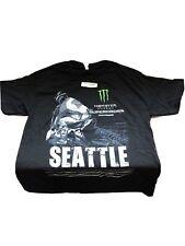 Monster Energy AMA Supercross FIM World Championship Seattle T-shirt Adult Large