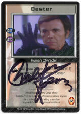 Babylon 5 CCG Premier Rare Card Bester Walter Koenig Autograph Signed Signature