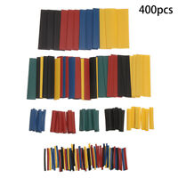 Sleeve Terminal Connector Electrical Wire Crimp Heat Shrink Tube Assortment Kit