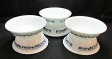 """CORELLE """"OLD TOWN BLUE ONION"""" ** SET OF SIX 6-1/4"""" SOUP/CEREAL BOWLS"""