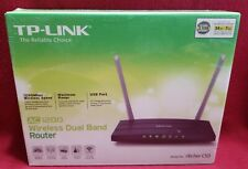 TP-LINK Archer C50 AC1200 Wireless Dual Band G2.4 & G5 Router Wifi Linux Mac Win