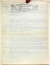 1925 ITINERAIRE MICHELIN FERTE MILON MEAUX CARTE BIBENDUM