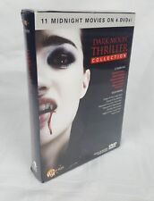 Dark Moon Thriller Collection (DVD, 2010, 4-Disc Set) New and Sealed